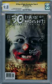 30 Days Of Night Bloodsucker Tales #1 CGC 9.8 Signature Series Signed Ben Templesmith IDW comic book